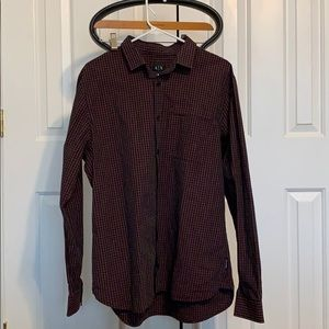 Armani Exchange Button Down Shirt-Size L